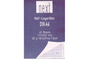 HALF LOGARITHM BLOCK A4